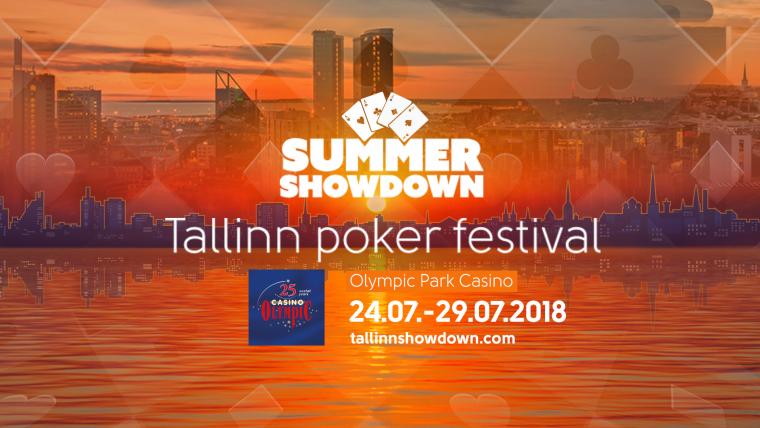 Selle suve kuumim pokkerifestival Tallinn Summer Showdown toimub 24.-29. juulil