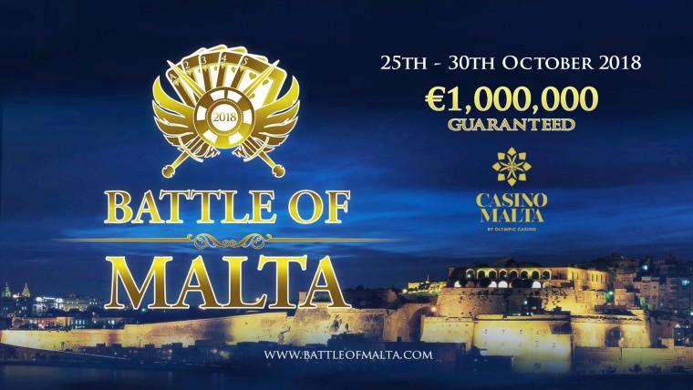 Pikenda suve pokkerireisiga miljon eurot garanteeritud Battle of Maltale