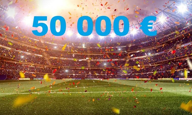 Superpakkumine on tagasi: Võida Unibetis 50 000 eurot!