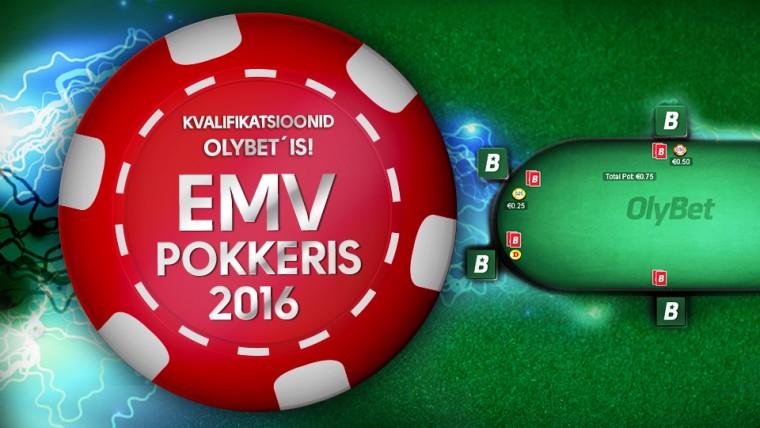 OlyBet pokkeritoas algasid EMV 2016 kvalifikatsioonid