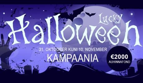 Lucky Halloween GrandX'is: Saa osa 2000 eurost!
