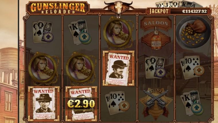 Gunslinger slotiturniir Unibetis: 1000 parimat mängijat jagavad 30 000 eurot!