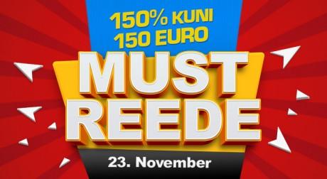 Vaid täna - saa GrandX online-kasiinos 150 eurot boonust!