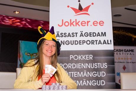 Esimese Jokker Live turniiri võitis Maret Komarova