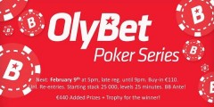 OlyBet Poker Series 09.02.2019